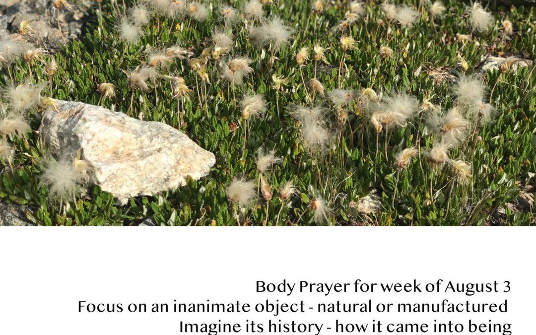 Body Prayer Practice