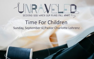Time for Children for September 6, 2020