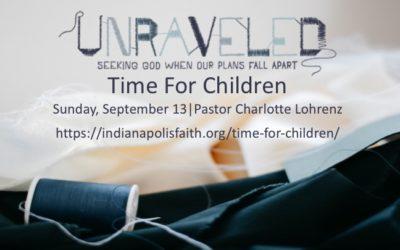 Time for Children for September 13 2020