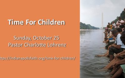 Time with Children for Reformation Sunday, October 25