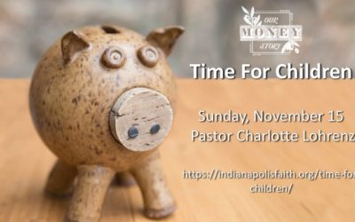 Time for Children for Sunday, November 15, 2020
