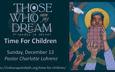 Time for Children for Third Sunday of Advent, December 13