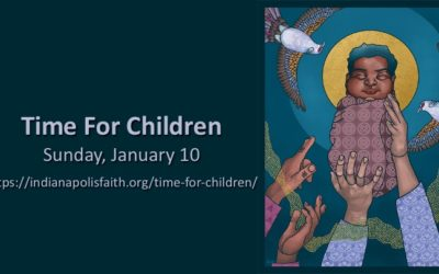 Time with Children for Celebration of Epiphany, January 10
