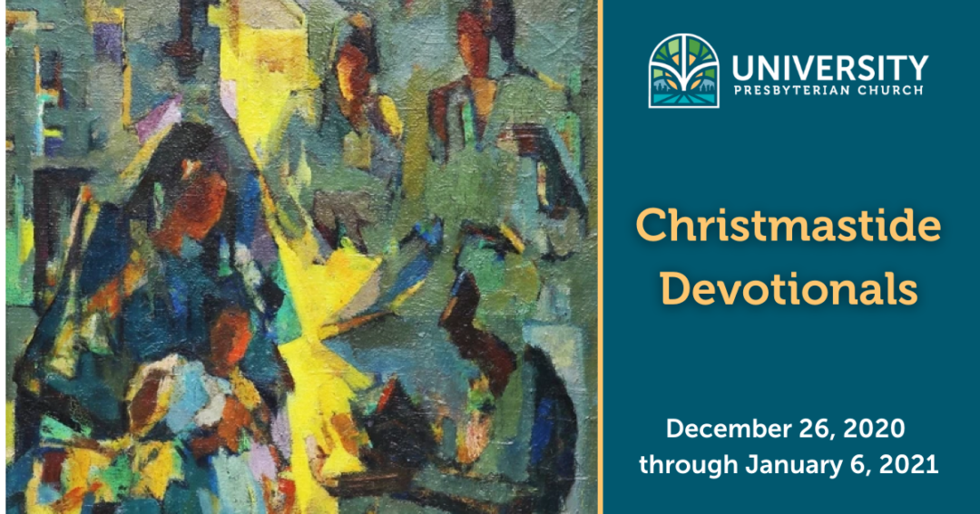 abstract of the adoration f the magi, Christmastide devotional dates