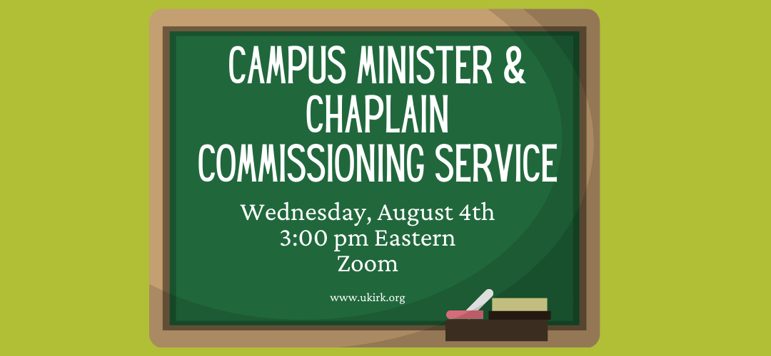 Campus Minister & Chaplain Commissioning Service