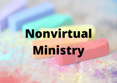 Nonvirtual Ministry