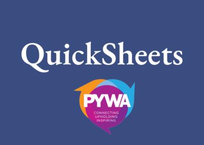 QuickSheets
