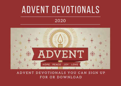 Advent Devotionals (2020)