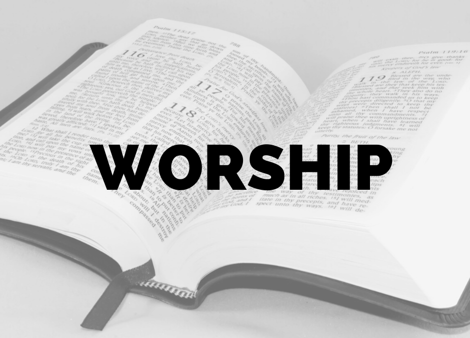 Holy Week and Easter Remote Ministry: Worship