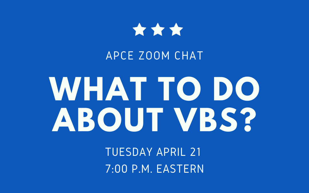 What to do about VBS?