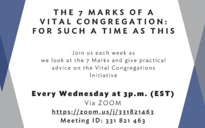 "Vital Congregations: Tackling the ""New Normal"""