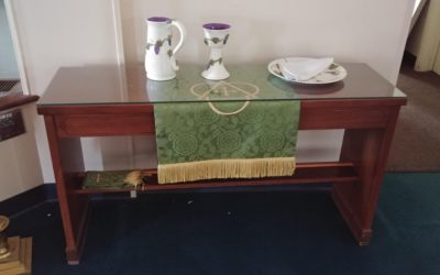 Worship Furniture and Supplies Available