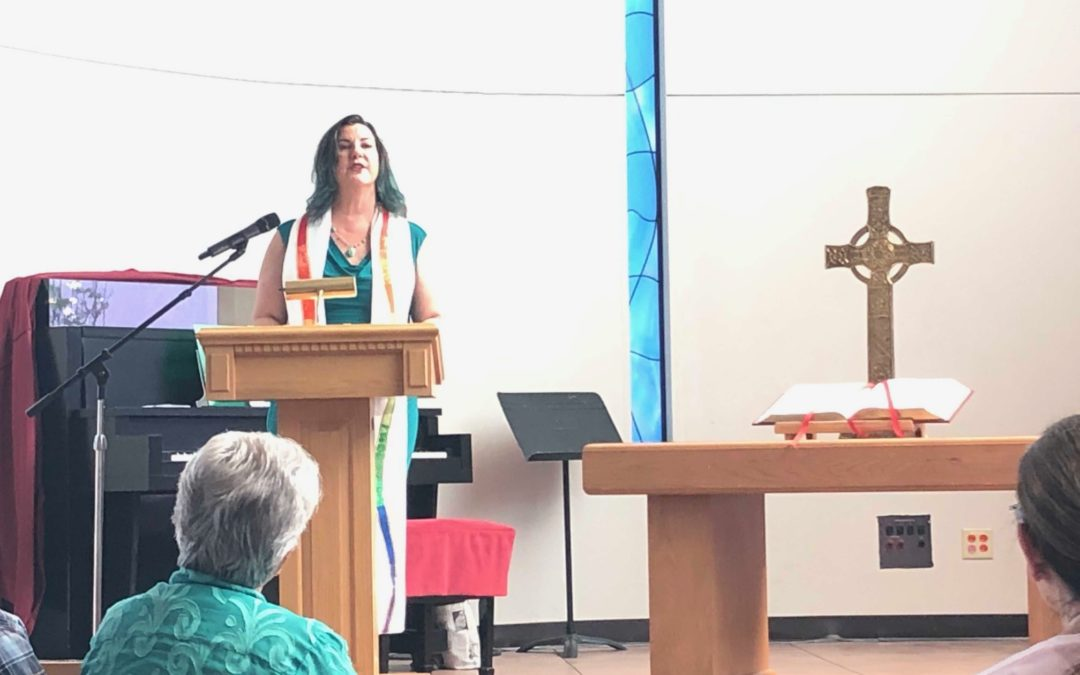 August 1 Video Sermon by the Rev. Marci Auld Glass